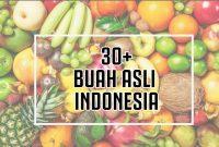 Buah Asli Indonesia Yang Mendunia dan Sudah Mulai Langka