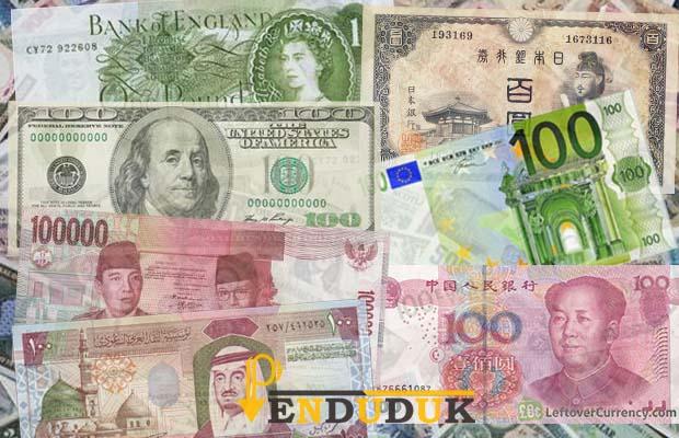Mata Uang Negara di Dunia