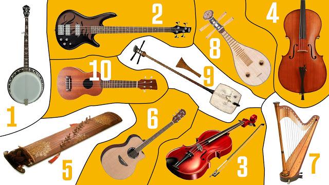 Alat Musik Yang Menggunakan Senar