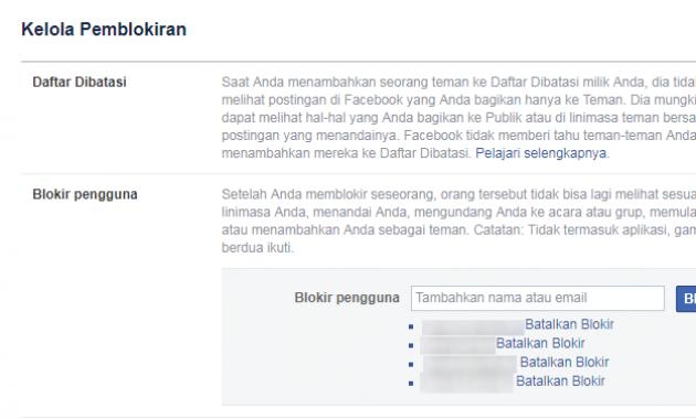 Cara Membuka Blokir fb lewat PC