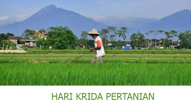 Memperingati Hari Krida Pertanian